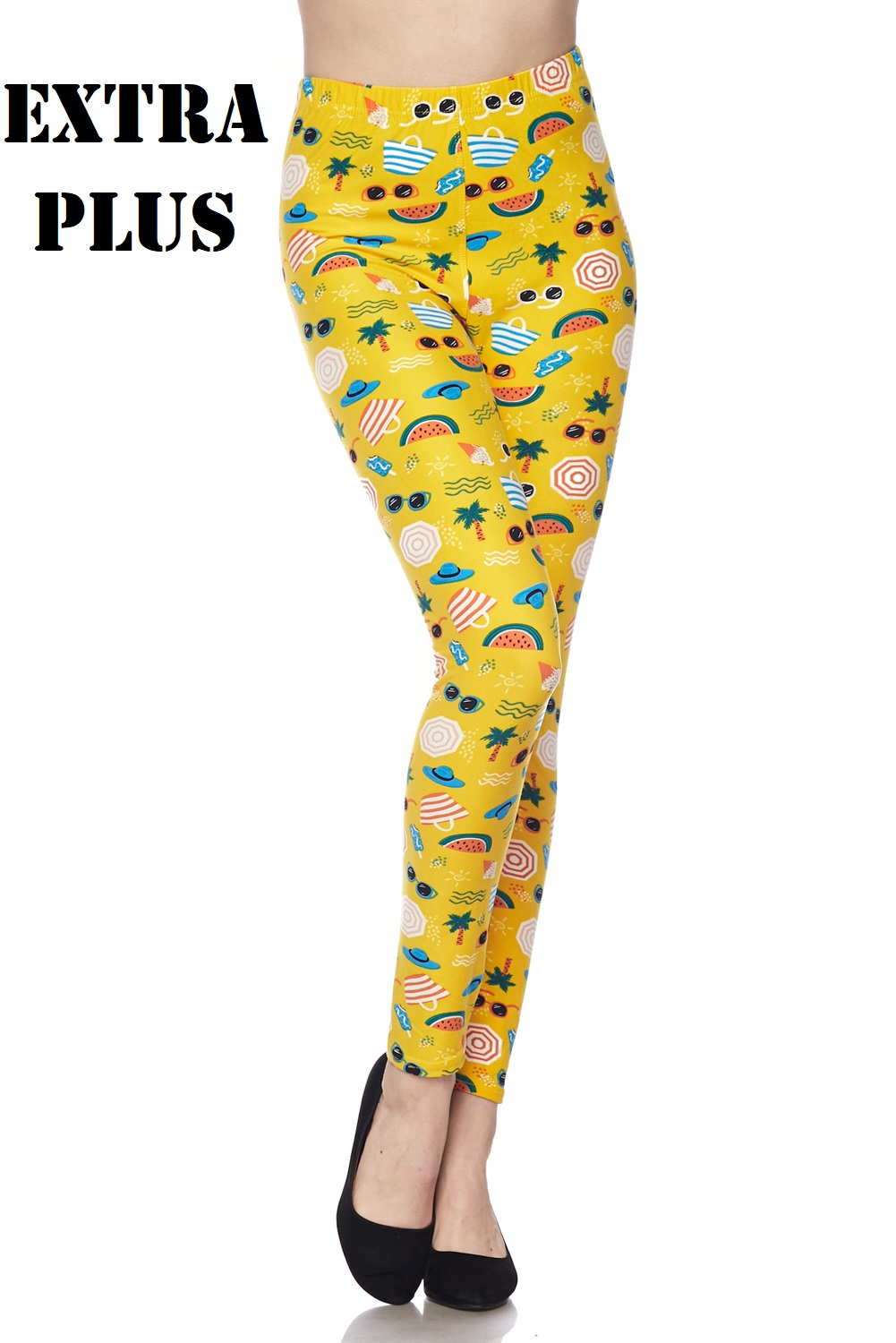 XPLUS Beach Party Print Leggings