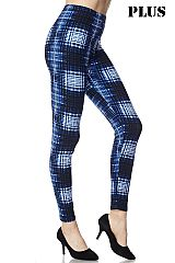 PLUS Multi Print Ankle Leggings