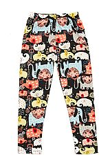 KIDS Elephant Love Print Leggings