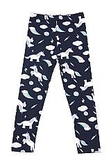 KIDS Flying Unicorn Print Leggings