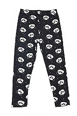 KIDS Smiley Panda Print Leggings