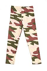 KIDS Underground Camo Print Buttery Soft Leggings